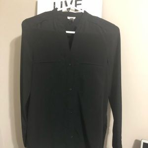Simple black blouse